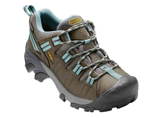 Dámské trakové boty Keen Targhee II WP - Trekové boty Keen Targhee II WP bl.olive/min.blue