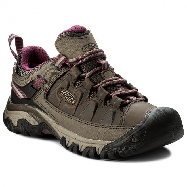 Dámské trakové boty Keen Targhee II WP - Trekové boty Keen Targhee II WP weis/boysenberry
