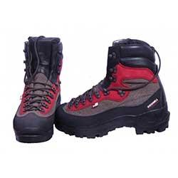 Trekové boty GRONELL H615/24 červená