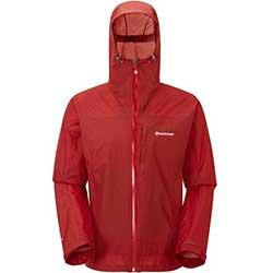 Pánská bunda MONTANE Minimus Jacket červená
