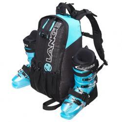 Vak na lyžařské boty Lange Pro černá/modrá