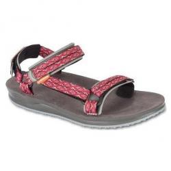 Sandály LIZARD Voda červená/šedá