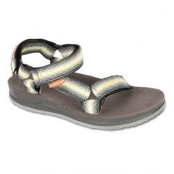 Dětské sandály Lizard Raft II šedá/žlutá