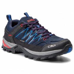 Pánské trekové boty CMP Wp 3Q54457 modrá/černá